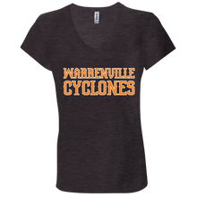 Load image into Gallery viewer, Cyclones WM Ladies' Jersey V-Neck T-Shirt
