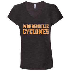 Cyclones WM Ladies' Jersey V-Neck T-Shirt