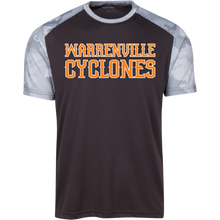 Load image into Gallery viewer, Cyclones WM CamoHex Colorblock T-Shirt