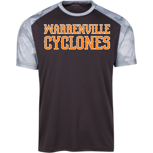 Cyclones WM Youth CamoHex Colorblock T-Shirt