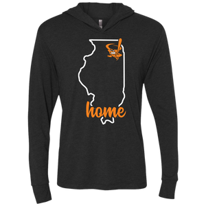 Cyclones Illinois Home  Triblend LS Hooded T-Shirt