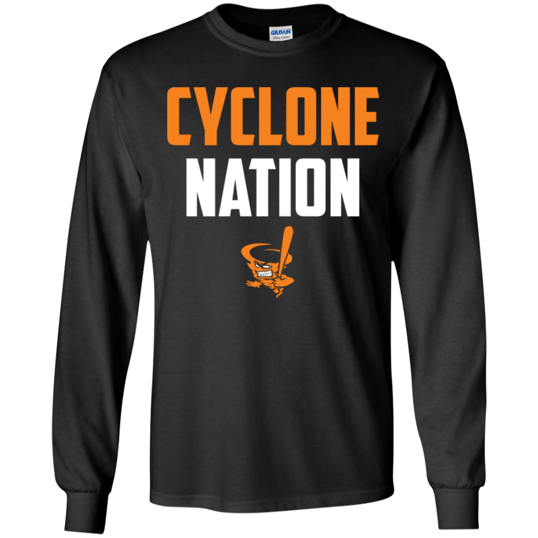 Cyclone Nation Youth LS T-Shirt