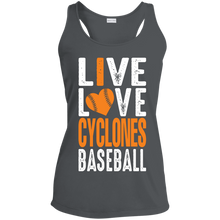 Load image into Gallery viewer, Live Love Logo Ladies' Racerback Moisture Wicking Tank