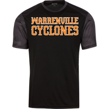 Load image into Gallery viewer, Cyclones WM Youth CamoHex Colorblock T-Shirt