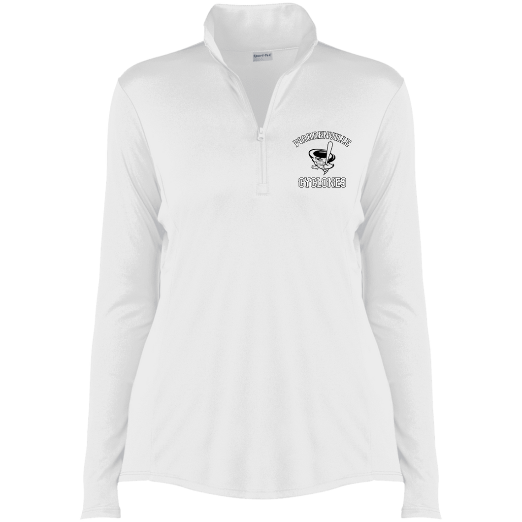 Cyclones Full Logo (blk)  Ladies' Competitor 1/4-Zip Pullover