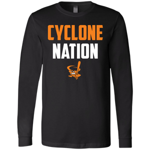Cyclone Nation Jersey LS T-Shirt