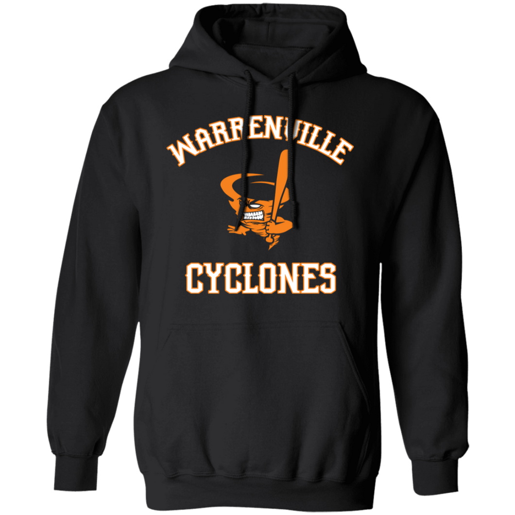 Cyclones Logo (white) Pullover Hoodie