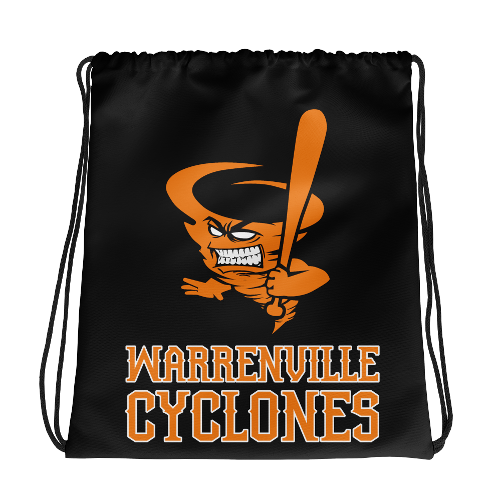 Cyclones Drawstring bag