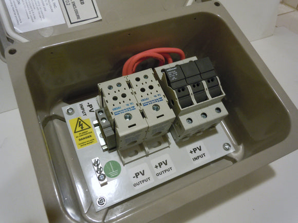 2 or 3-String Solar Power Combiner Box