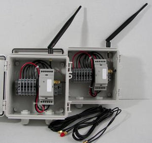 Wireless Voltage Transmitter / Receiver Set - NEMA 4X Enclosures - 900 MHz