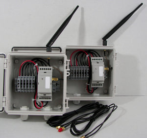 Wireless Dual Input 4-20 mA Transmitter / Receiver Set - 2.4 GHz