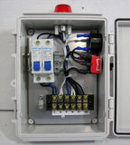 Pump Control Panel with High/Low Water Alarm Circuit - 240V