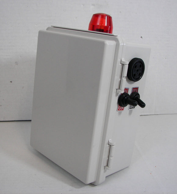 Pump Control Panel with High/Low Water Alarm Circuit - 120V