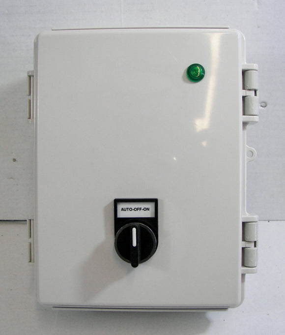 Digital Timer Control Panel with 1, 2 or 3-Pole Contactor -120V AC