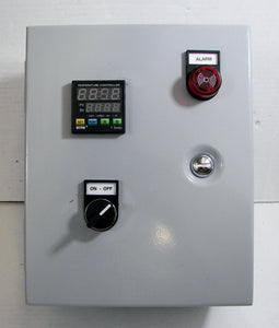 1-Zone Industrial Temperature Control Panel with RTD (PT100) Input - 240V AC, 22A Capacity