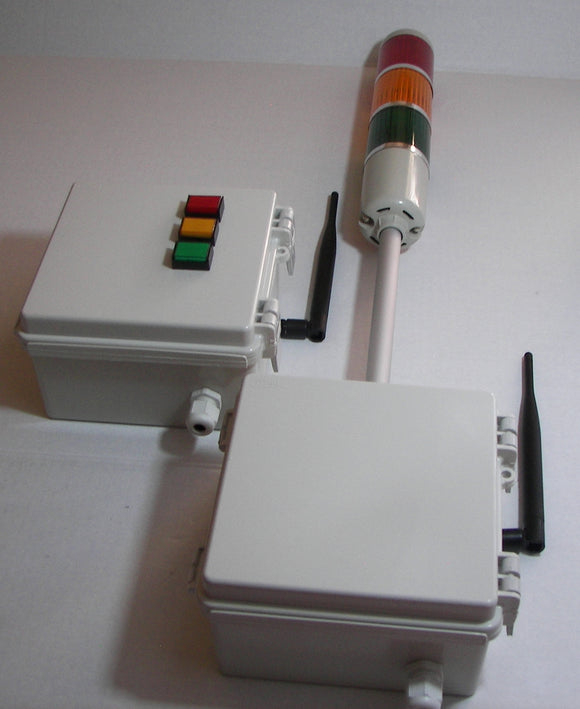 Tower Stack Lights with 900 MHz Wireless Switch Control Box