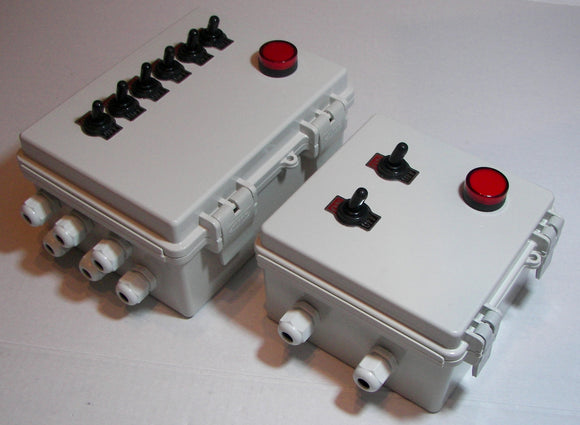 Outdoor Rated Power Control Switch Boxes