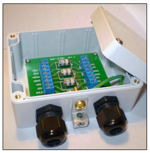 Lightning / Surge Protector for RTDs or Load Cells