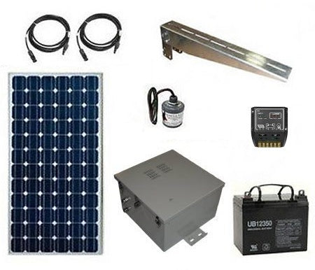 Remote Solar Power System for Industrial Controls & Instrumentation