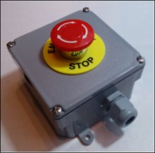 Emergency Stop Switch Station - Economical Design
