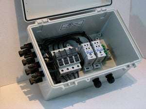 4, 5, 6 or 8-String Pre-wired Compact Solar Combiner Box