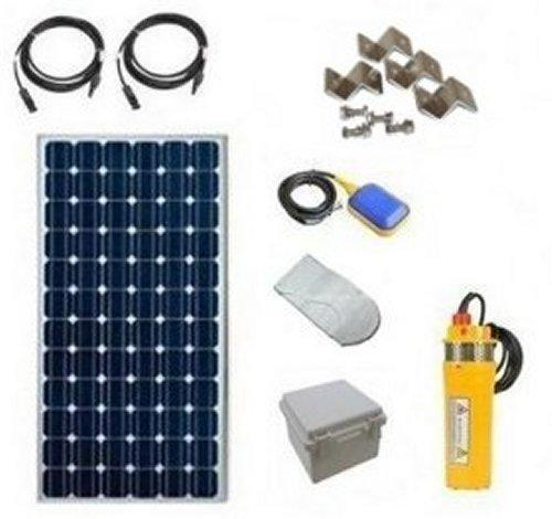 Solar Powered Deep Well Pump Kit