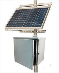 Solar Power System for Wireless Remote Controls
