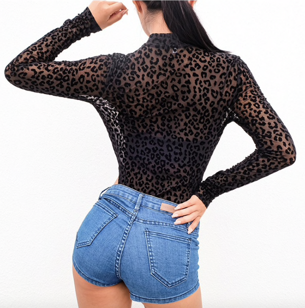 Bodysuit Leoparda