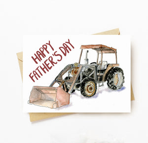 Farmer fathers day card