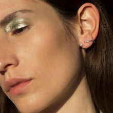 Load image into Gallery viewer, Knobbly | Nu Coil Earring + Pearl