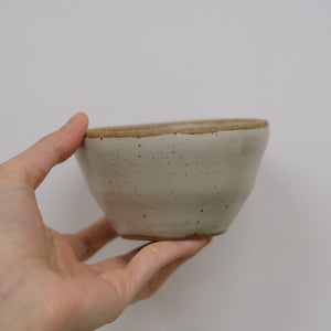 Incausa |  Stoneware Smudge Bowl (Piker White)