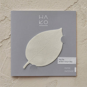 HA KO | No.6 White Floral