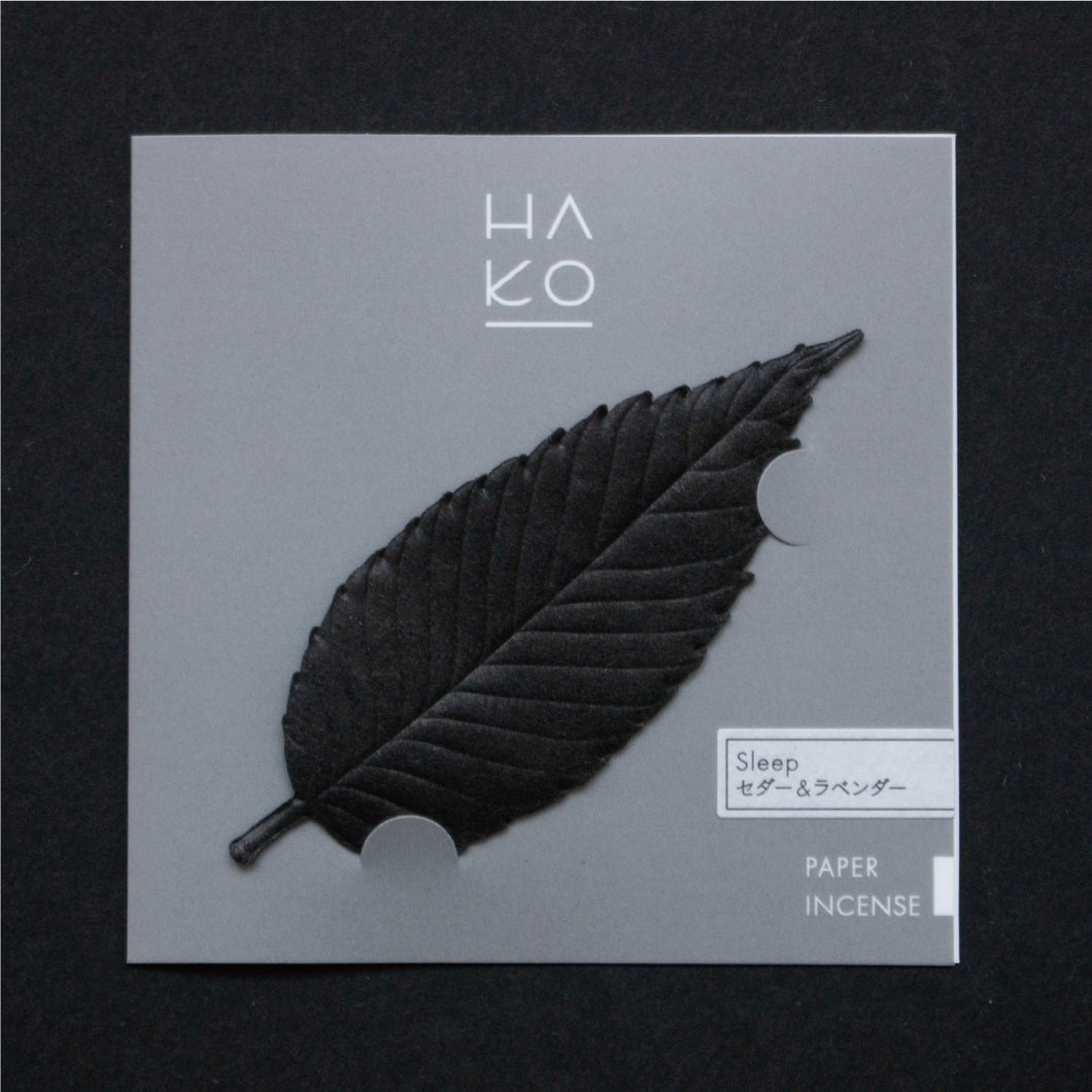 HA KO | [Sleep] Special Black - Cedar & Lavender