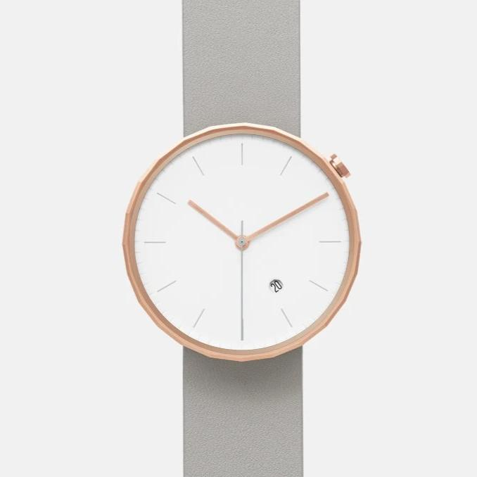 Chiandchi | POLYGON-PG02 (Rose Gold/Grey)