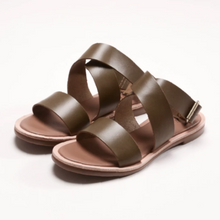 Load image into Gallery viewer, Aesop X-Sandals 交叉涼鞋  | P23橄㰖綠