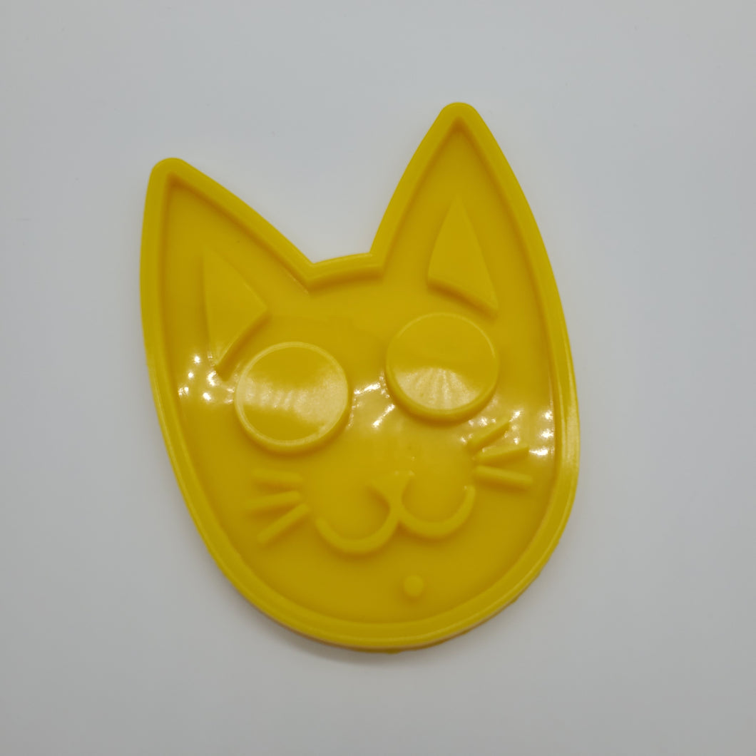 CAT FACE KEYCHAIN MOLD
