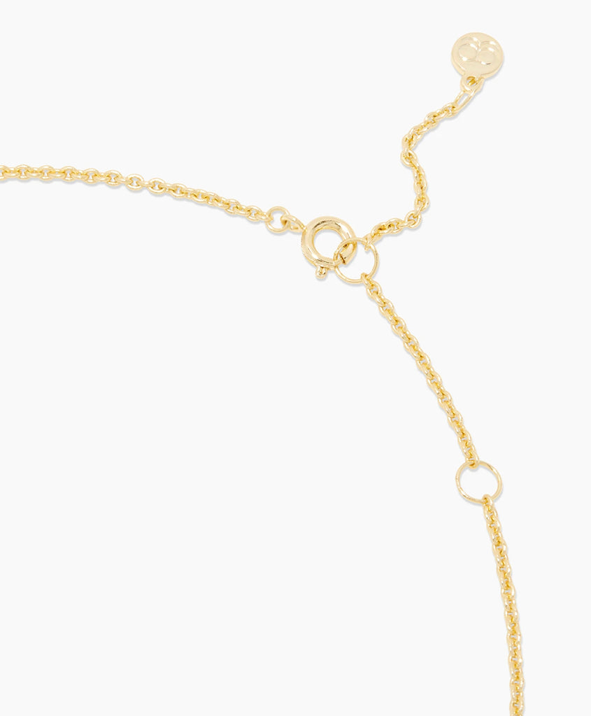 Yellow gold crystal sunburst necklace - Ilumine Gallery Store dainty jewelry affordable fine jewelry