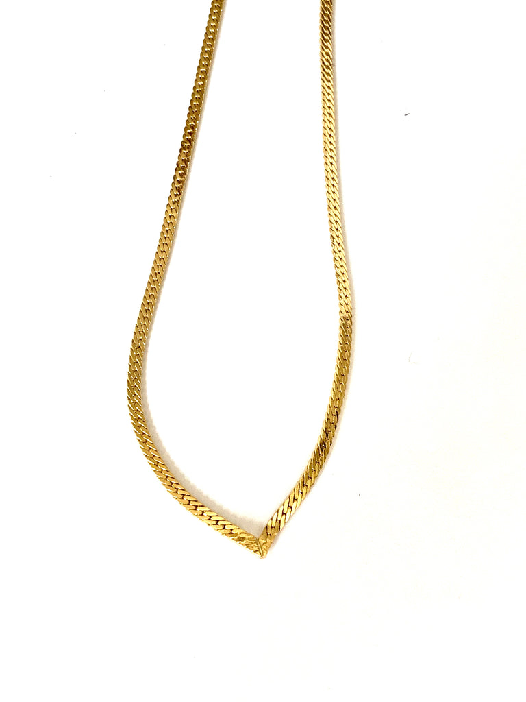 Yellow gold overlay necklace - Ilumine Gallery Store dainty jewelry affordable fine jewelry