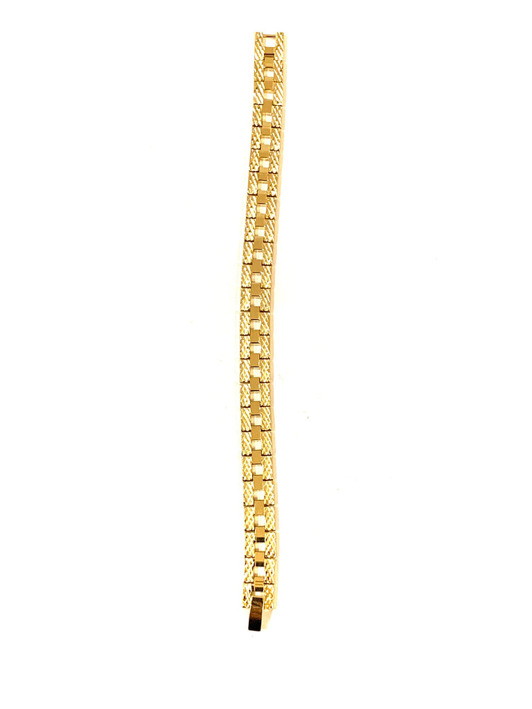 24Kt gold rhodium or silver bracelet - Ilumine Gallery Store dainty jewelry affordable fine jewelry
