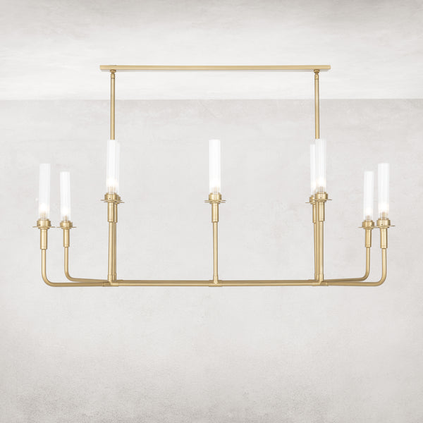 SPATIA CHANDELIER-ANTIQUE BRASS