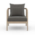 NUMA OUTDOOR CHAIR - WASHED BROWN