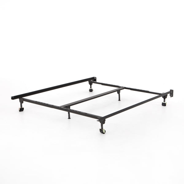 METAL BED FRAME-BLACK-KING/CAL KING