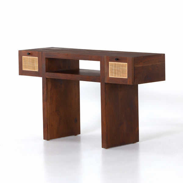 GOLDIE CONSOLE TABLE-TOASTED ACACIA