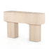 BLANCO CONSOLE TABLE-BLEACHED BURL