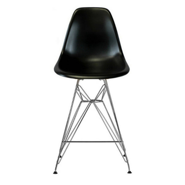 "Eiffel Stool with Chrome Legs (27"")"