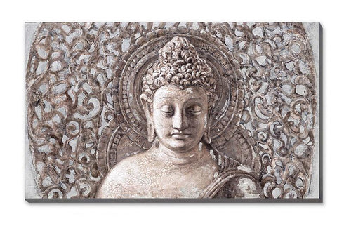 Buddha Art II - 50% Hand Painted