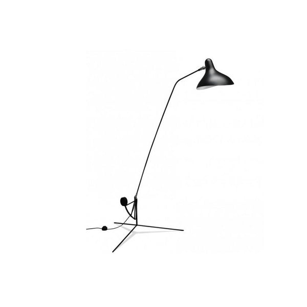 Serge Mouille One-Arm Floor Lamp (Reproduction)