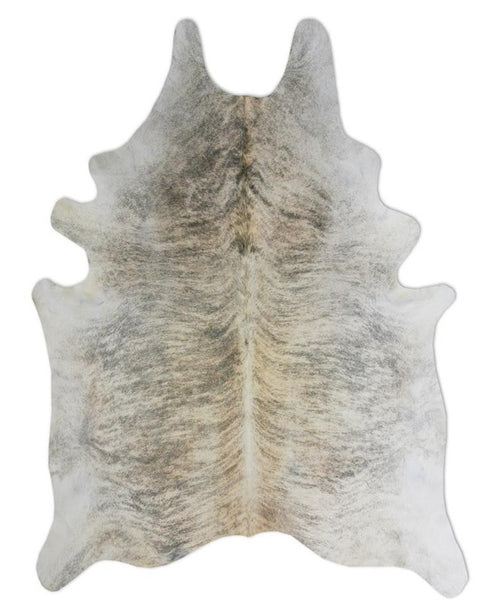 Exotic Grey Natural Cowhide