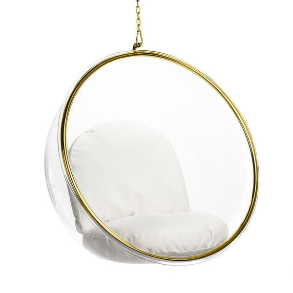 Bubble Hanging Lounge Chair - Gold
