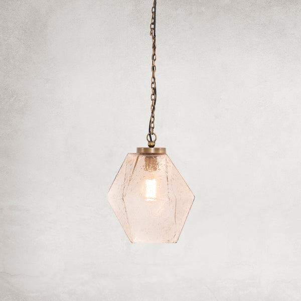 PRATT PENDANT-ANTIQUE BRASS
